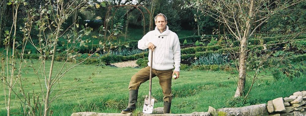 Klause Laitenberger at Milkwood Farm